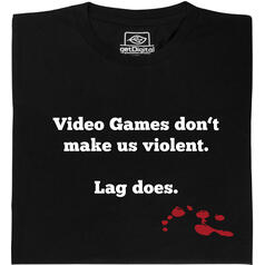 Video games do not make us violent T-Shirt