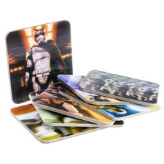 Star Wars Episode VII 3D Coasters