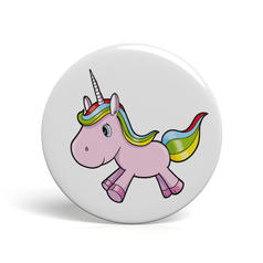 Geek Button Unicorn