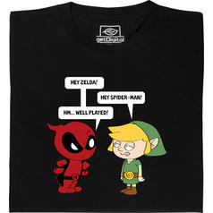Zelda meets Spiderman T-Shirt