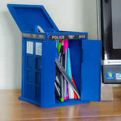 Dr. Who Tardis Desk Tidy