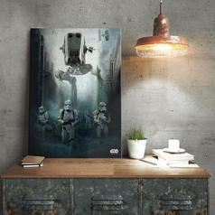 Star Wars Rogue One Metal Poster