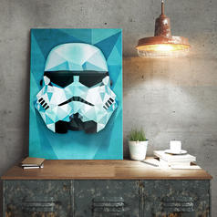 Star Wars Stormtrooper Metalen Poster