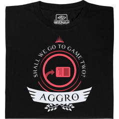 Aggro Life Shirt for Magic Players