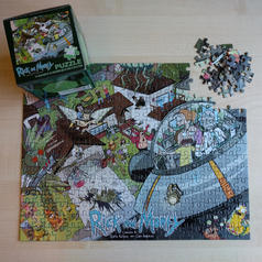 Rick & Morty Jigsaw Puzzle