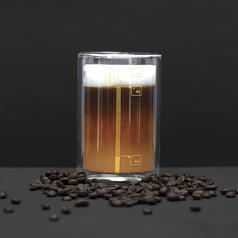 Coffee Lab - Coffe Glass with Instructions
