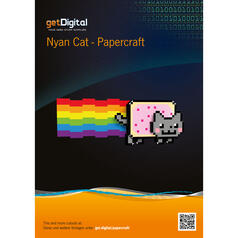 Nyan Cat Papercraft