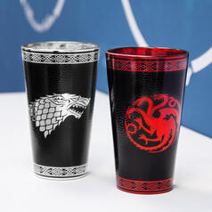 Game of Thrones Glass with Leather and Metal Effects
