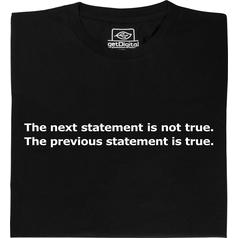 true or false ? T-Shirt