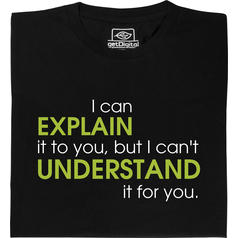 EXPLAIN vs UNDERSTAND
