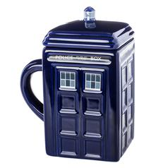 TARDIS Mug With Lid