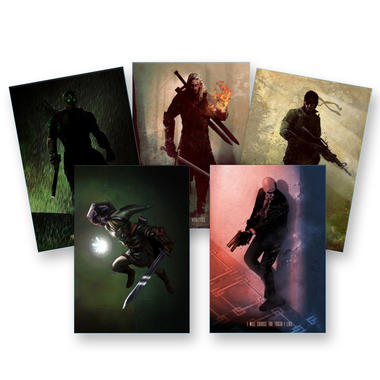 Gaming Legends Metal Poster